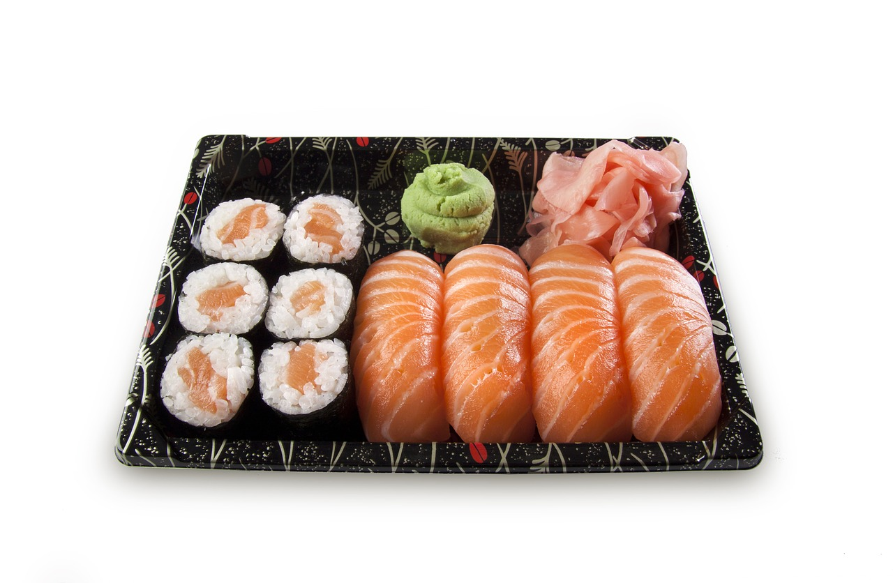 sushi, set, nigiri